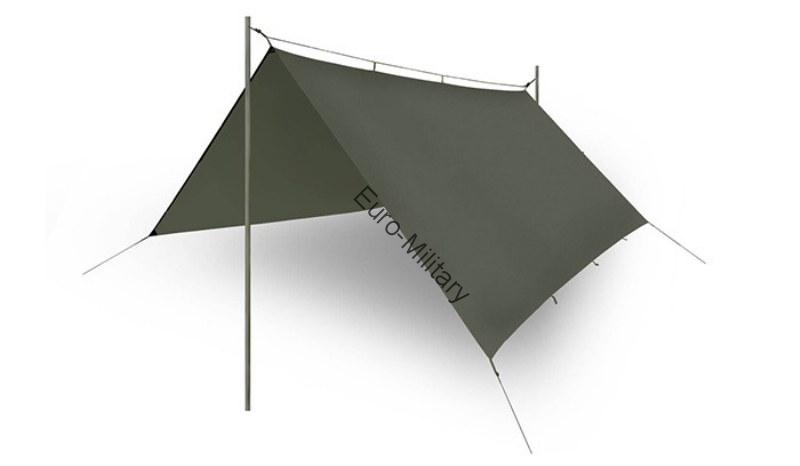 HELIKON TEX® Outdoor Hunting Military SUPERTARP® Universal Shelter - Olive Green