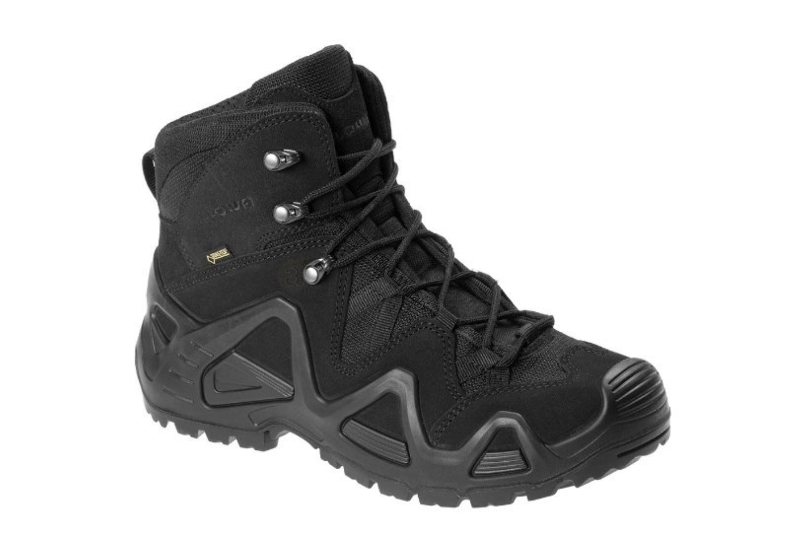 LOWA® Professional Tactical Military Outdoor Boots ZEPHYR GTX® MID TF - Black