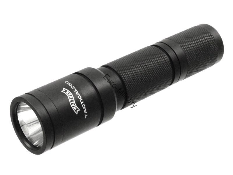 Walther® Tactical Professional Flashlight Tactical 250 Lumens LED