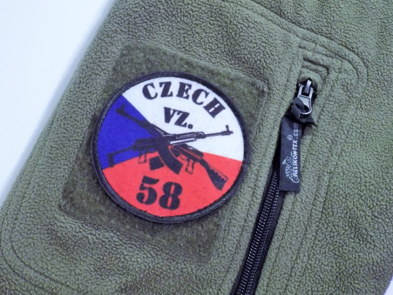 SA,VZ-58 Velcro Patch - Czech Colours