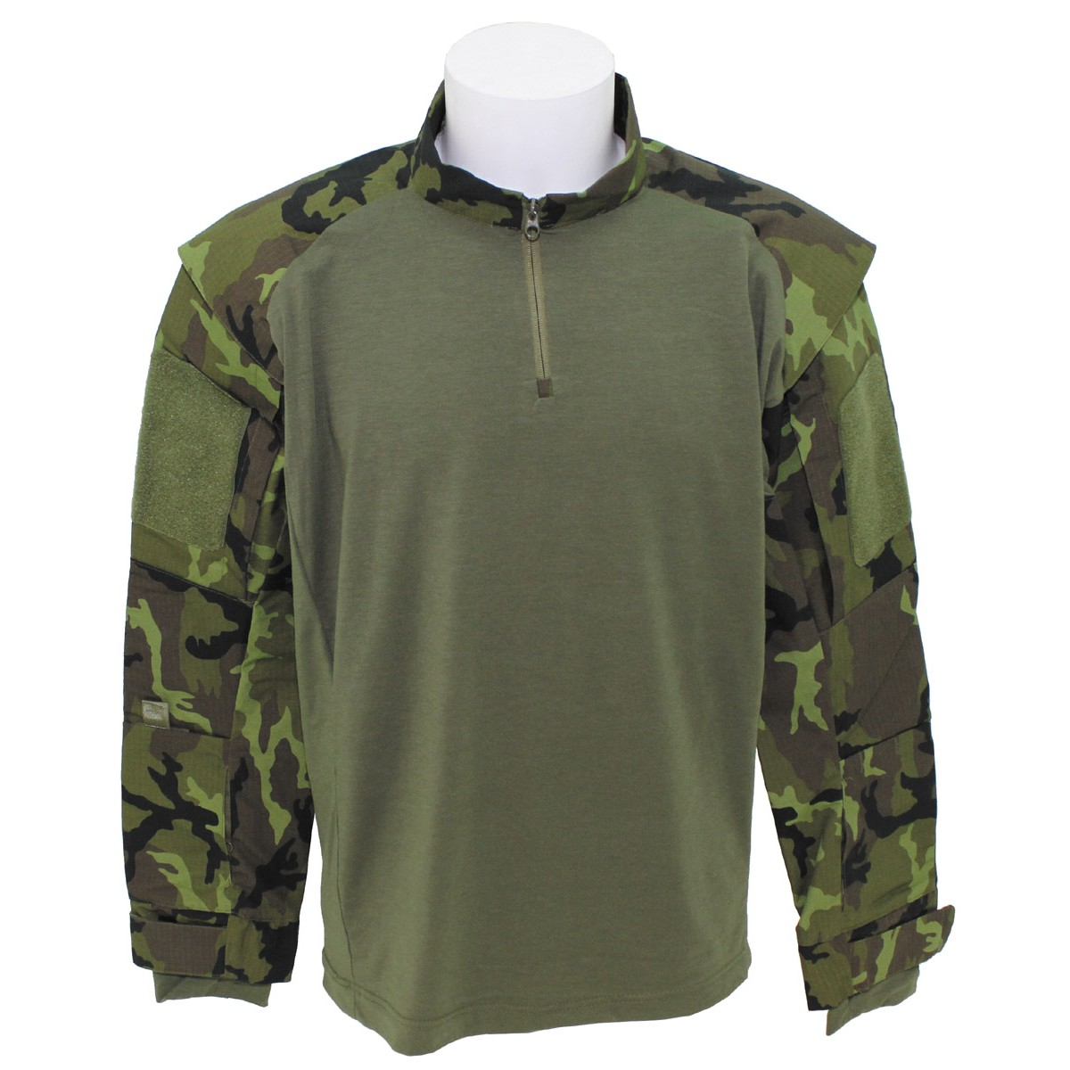 Tactical Military Battle UBACS T-Shirt M95 Czech Army Camo