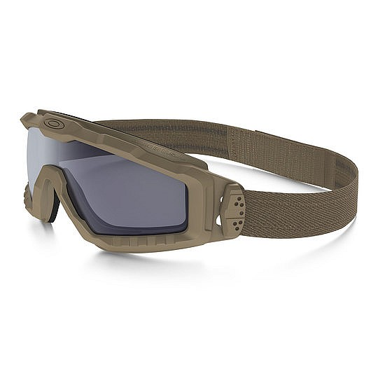 Oakley® SI Ballistic Alpha Halo Google Terrain Tan Tactical Army Glasses