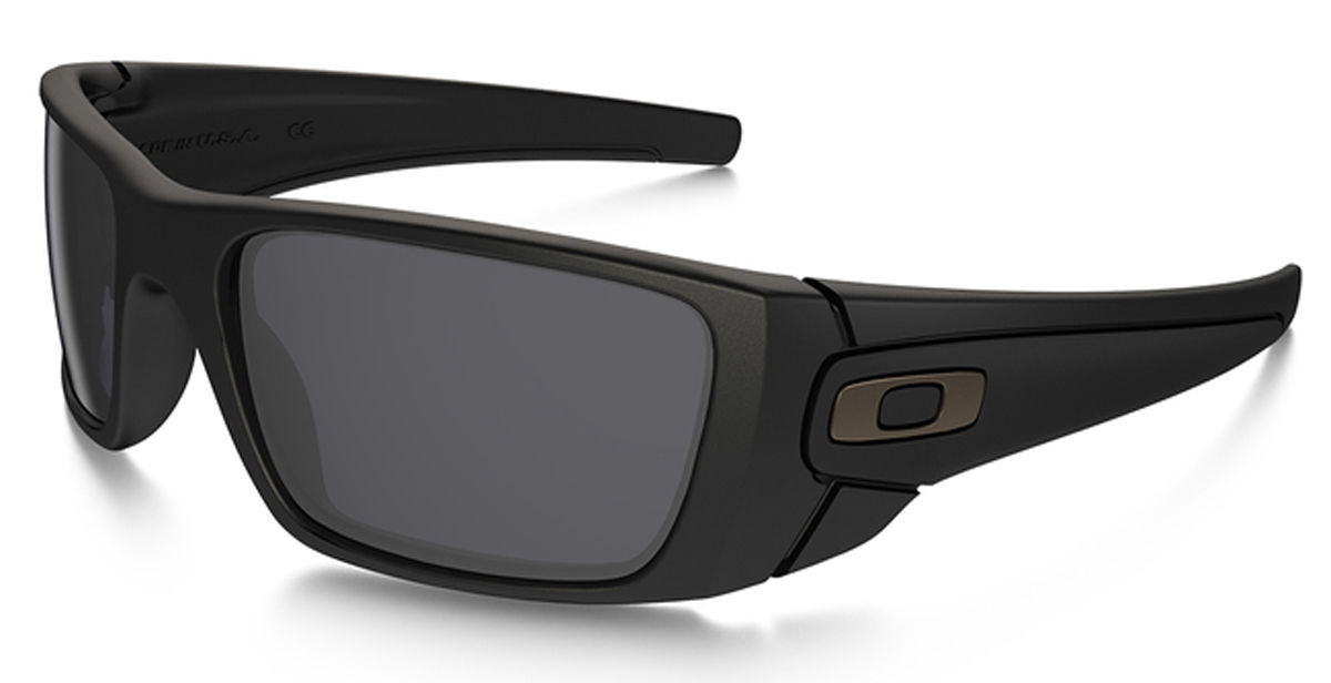 Oakley® SI Fuel Cell Matte Black Grey SunGlasses UV Protection