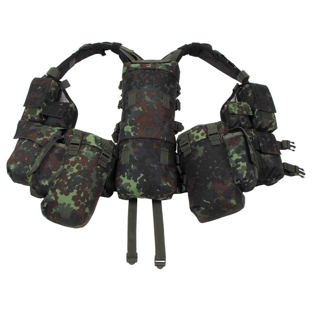 BW German Army Flectarn Camo Pattern Tactical Military Battle Combat Vest