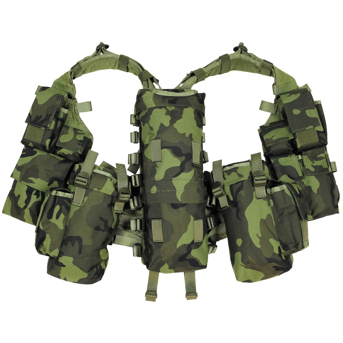 CZ Army M95 Camo Pattern Tactical Military Battle Combat Vest