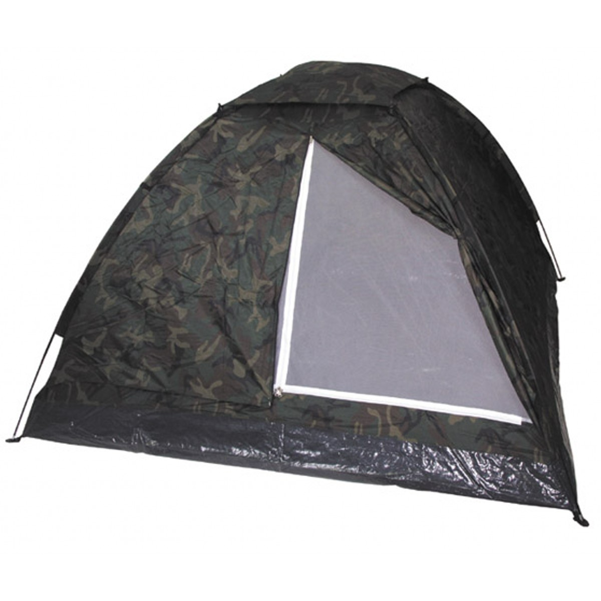 Military Tactical 3 Man Monodom Outdoor Woodland Camo Shelter Tent
