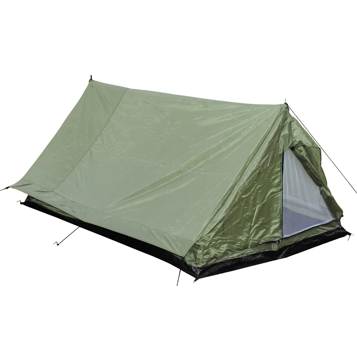 Standard Two Man Military Army Tactical Double Shelter - OD Green