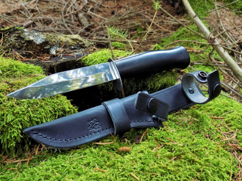 Hunting Fin Dagger Knife - Finnish Traditional Knife - MIKOV