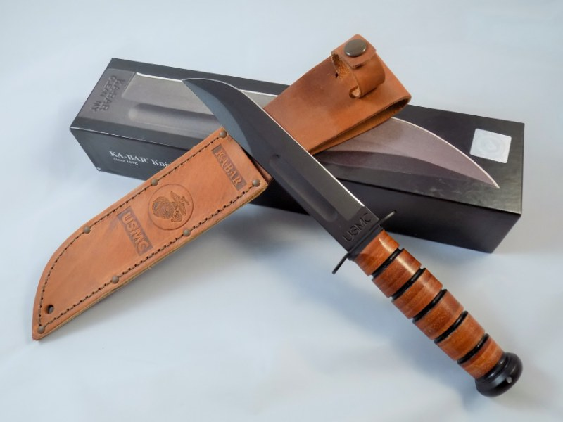 USMC The Legend KA-BAR Fighting/Utility Knife 1217 - USA
