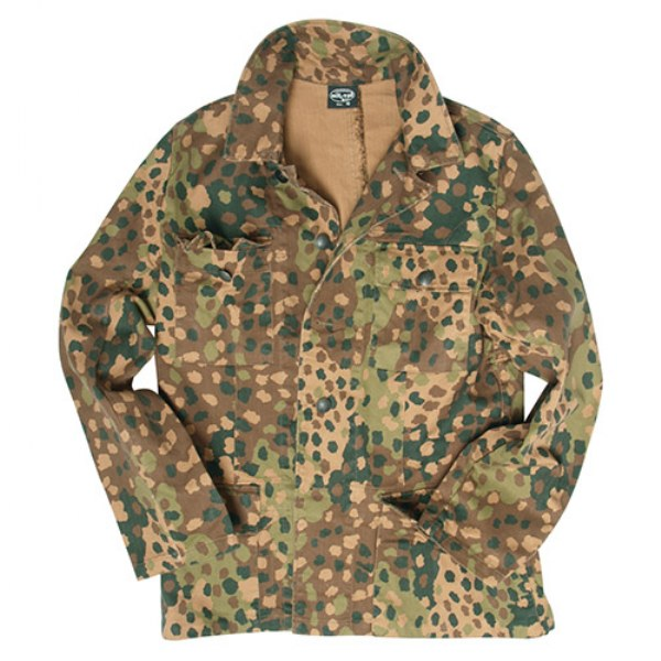 WW2 German Army SS M44 Peas Camo Field Battle Jacket