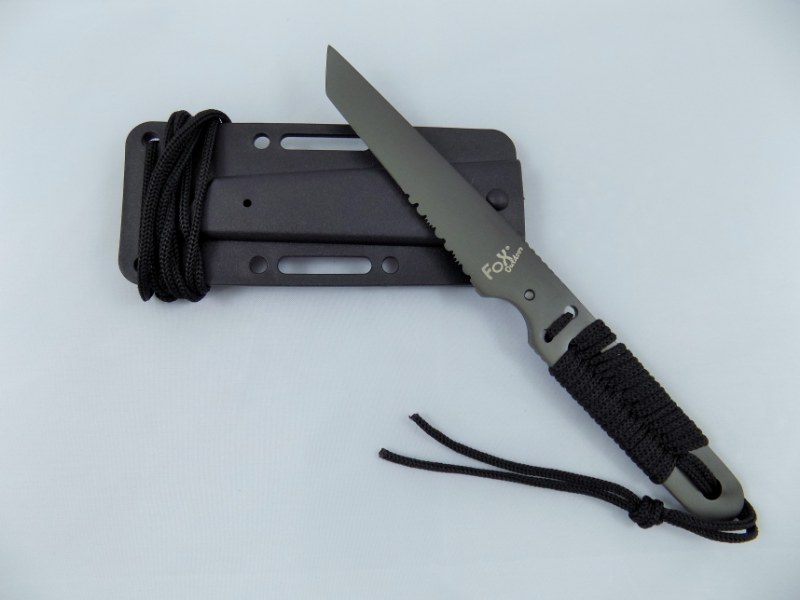 Outdoor / Self Defense Tactical Knife ACTION ONE w/ Sheath