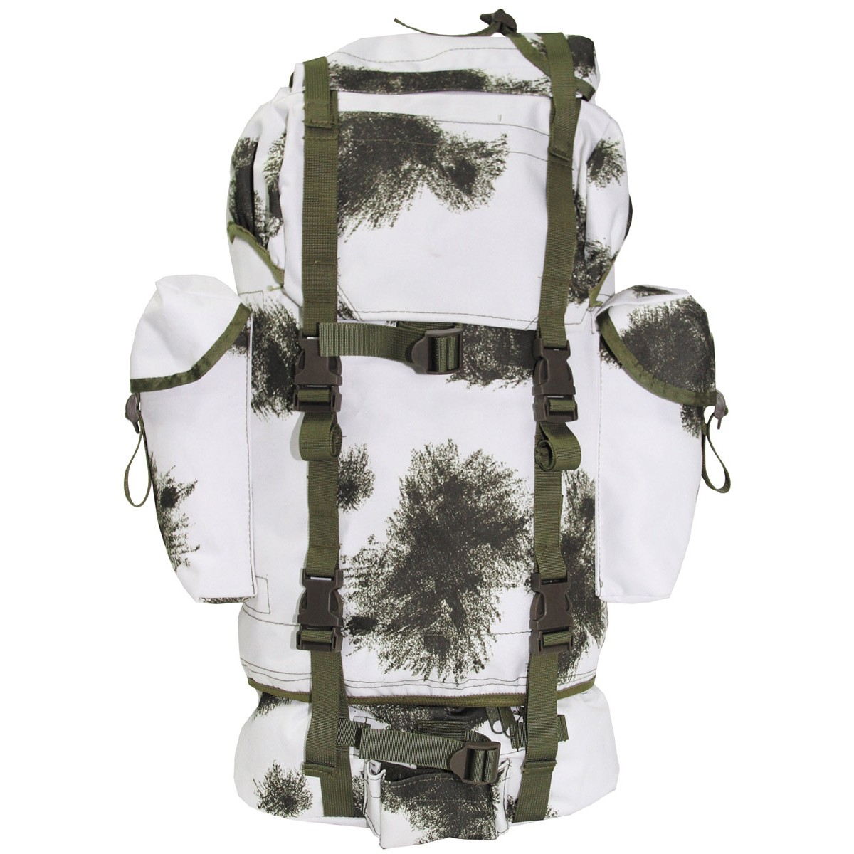 Military Patrol Expedition Backpack Large 65L - Winter Camo 2