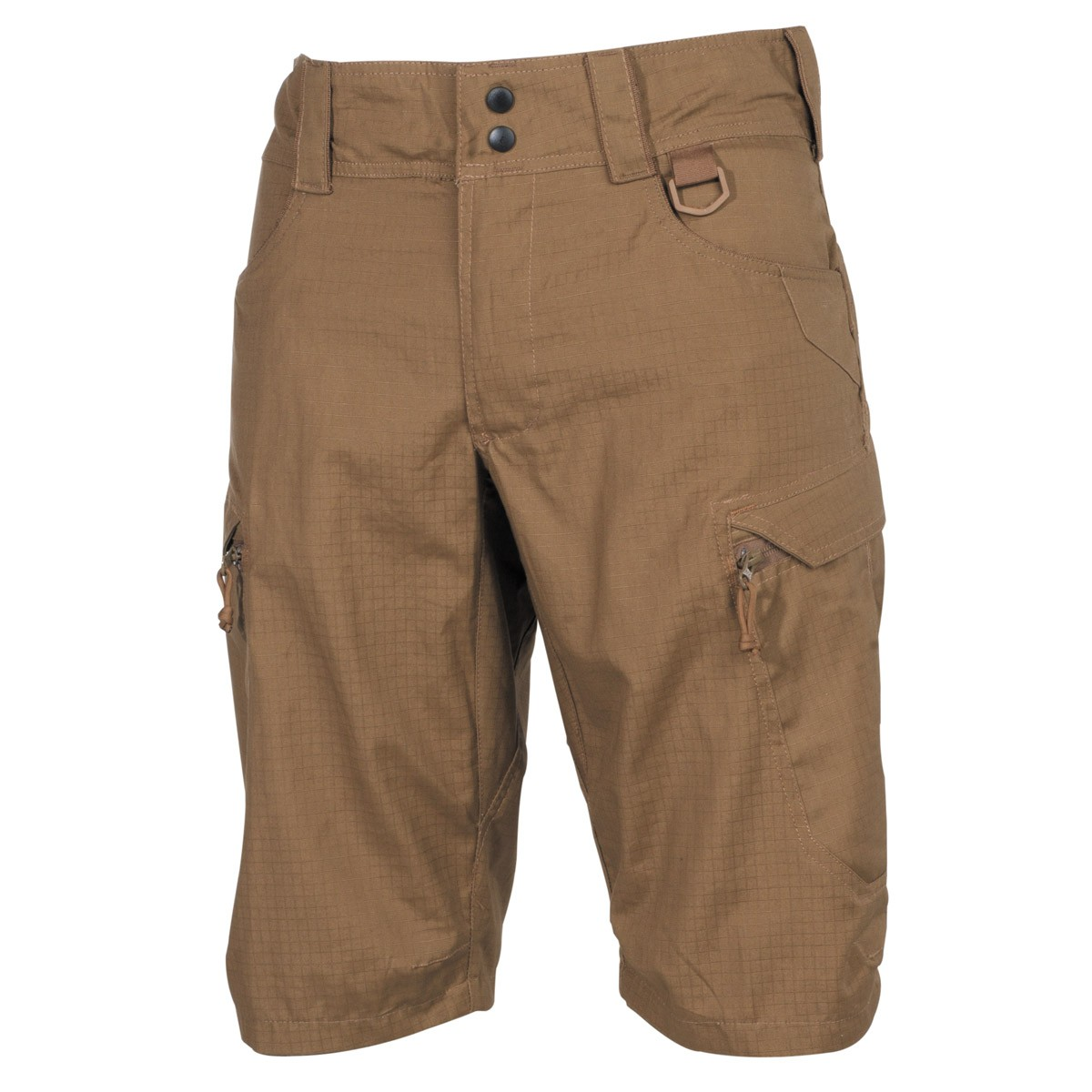 "Professional Tactical Military Battle Army Shorts ""Defense"" Rip Stop - Coyote"