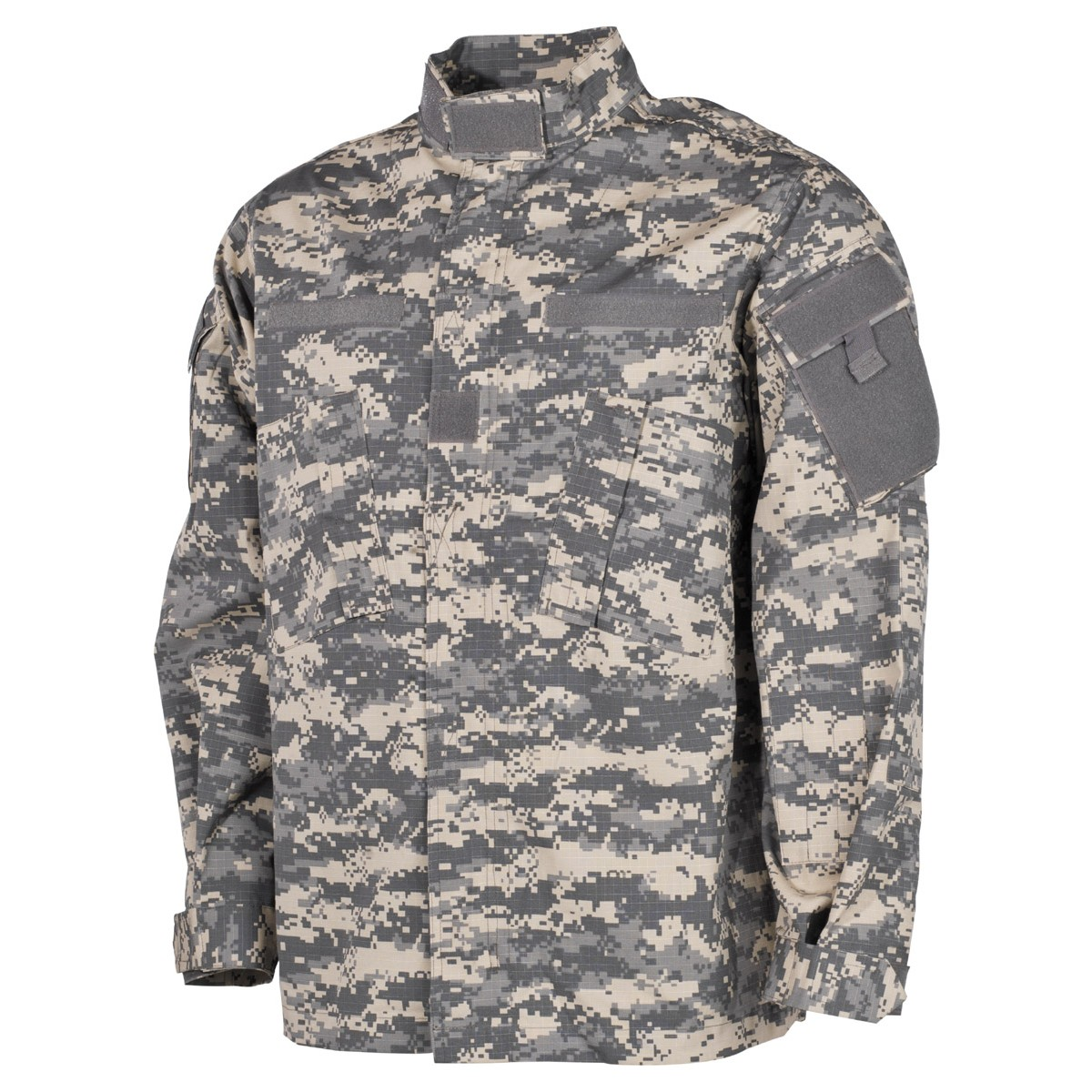 US Army Digital Camo Pattern Rip Stop Battle Combat Jacket