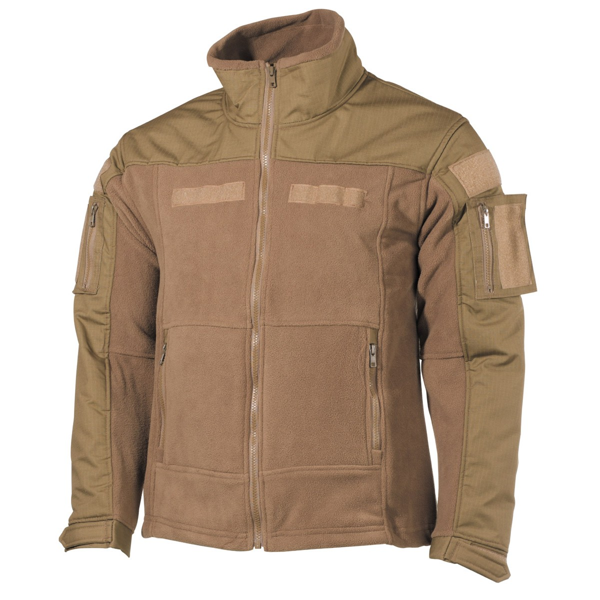 Professional Tactical Military Fleece Jacket COMBAT High Defense - Coyote
