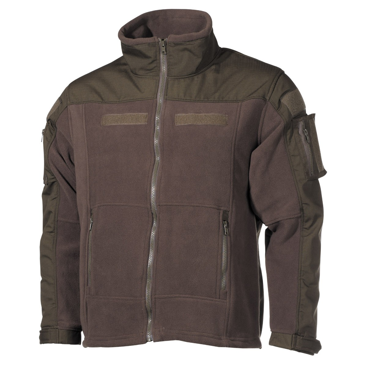 Professional Tactical Military Fleece Jacket COMBAT High Defense - OD Green