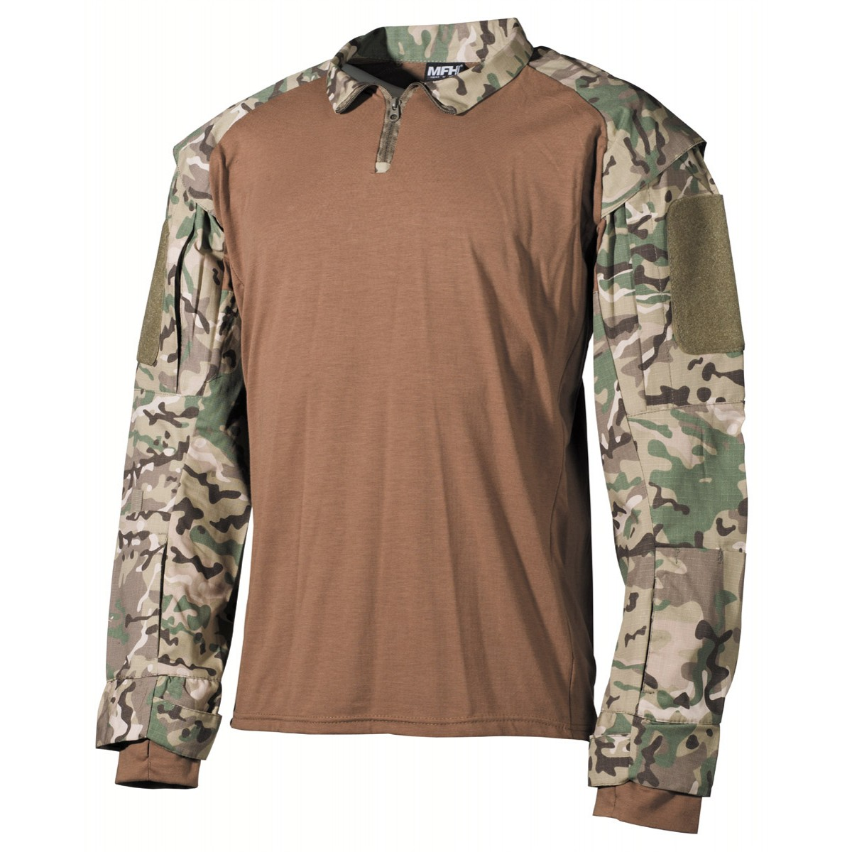Tactical Military US Battle UBACS T-Shirt - Multicam