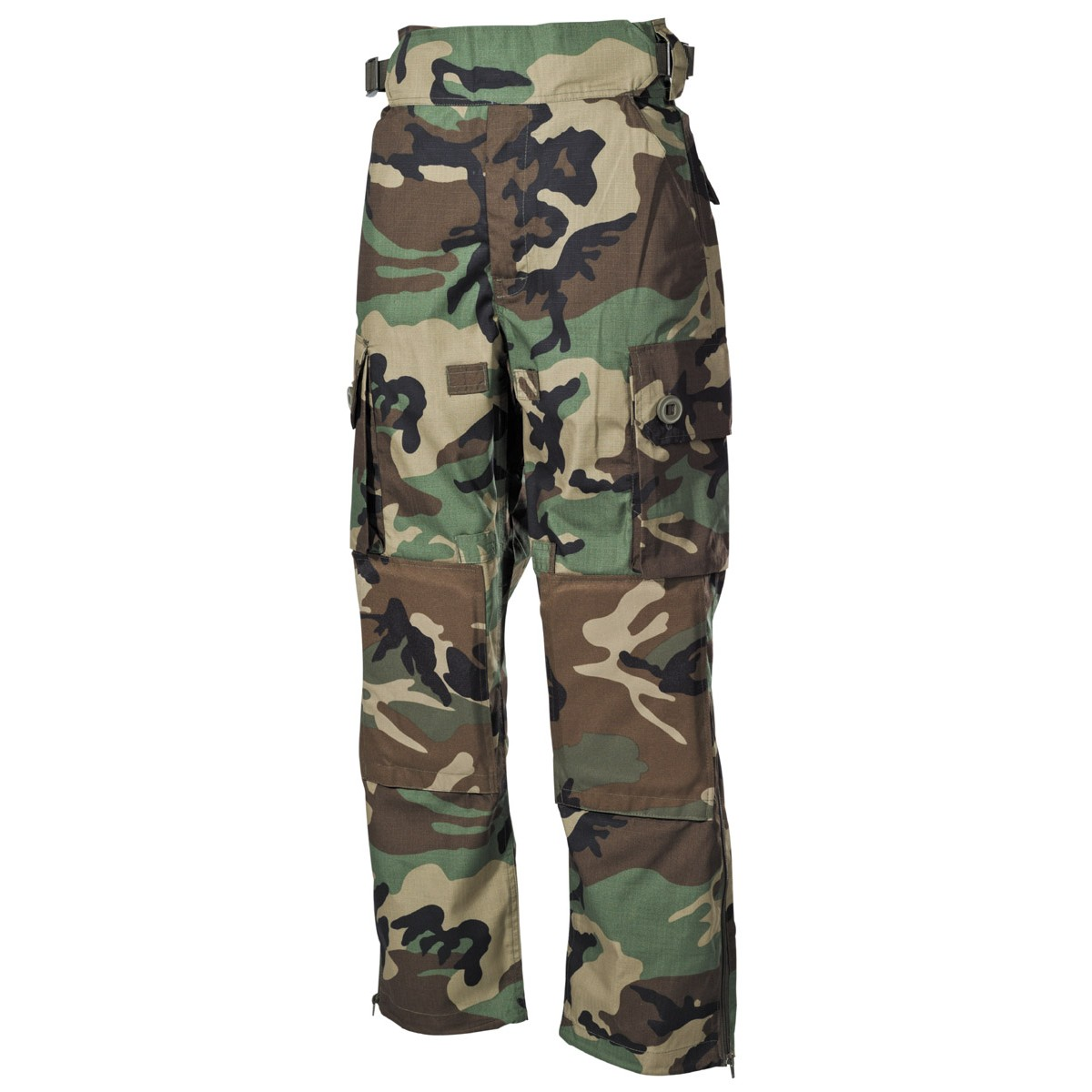 Premium Tactical Military Battle Trousers COMMANDOS - Woodland
