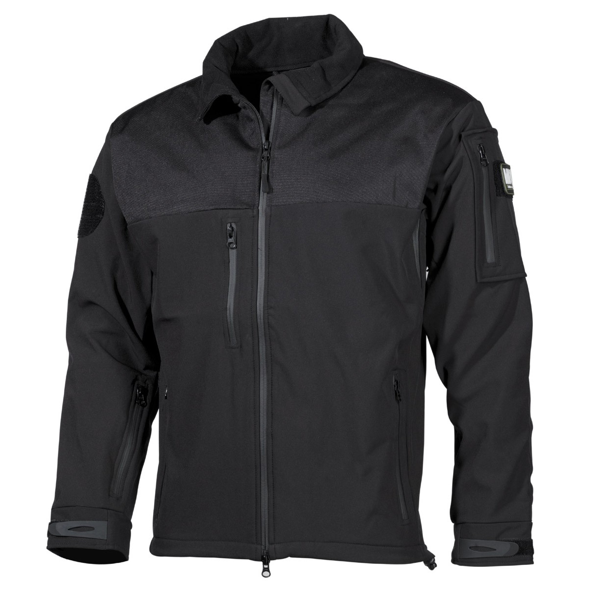 High Level Soft Shell Waterproof Jacket AUSTRALIA - Black