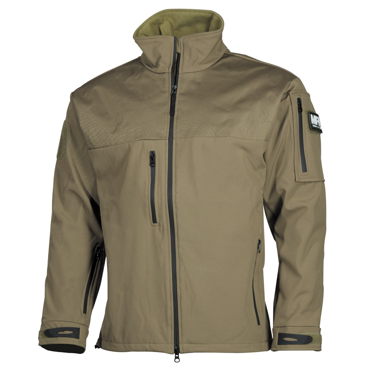 High Level Soft Shell Waterproof Jacket AUSTRALIA - Coyote