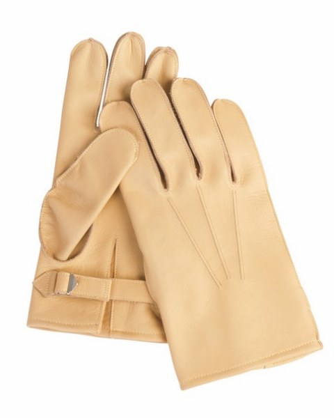 WW2 US Army M-39 Paratrooper Leather Gloves - Repro