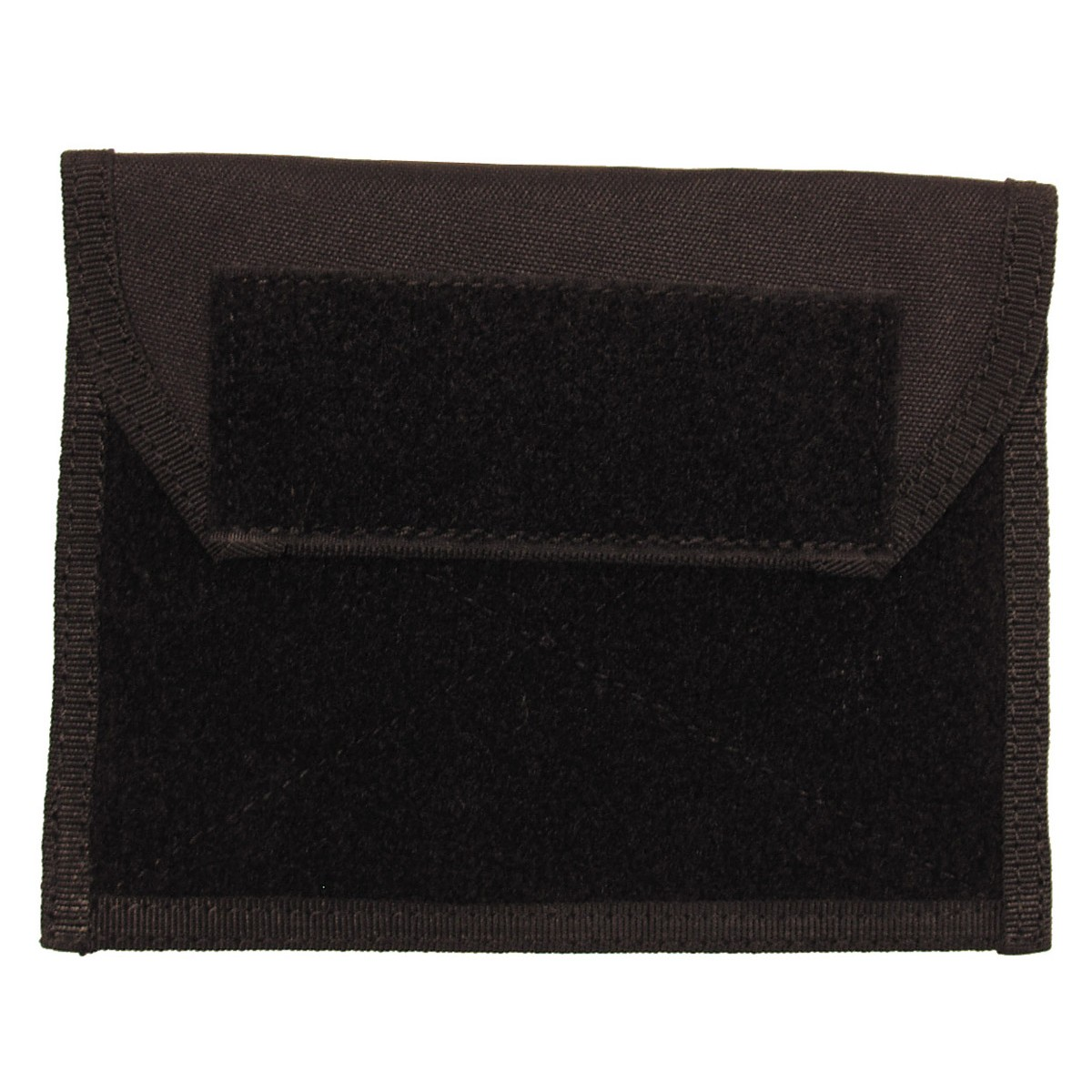 Tactical Admin Chest Molle Pouch w/ Velcro - Black