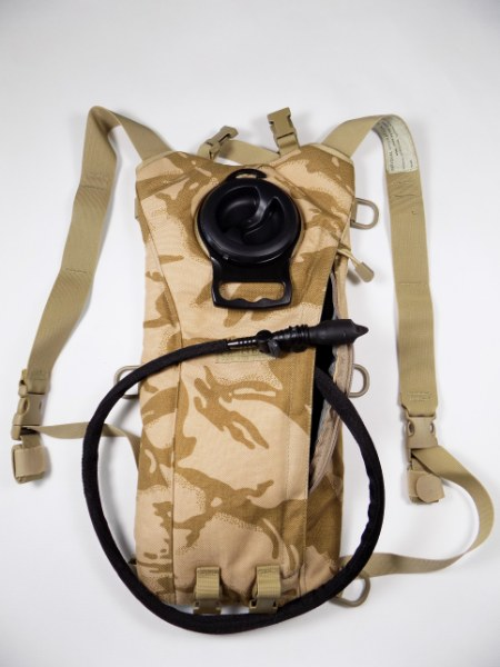 Original British Army DPM Desert Camo CAMELBAK® Hydration Bag 3L