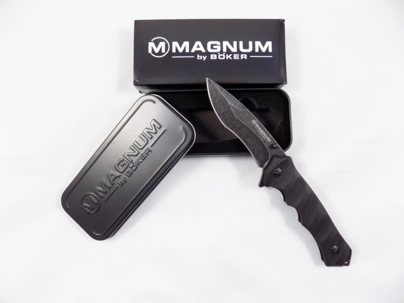 SOLINGEN BÖKER® MAGNUM - Shadow Warrior - Pocket Tactical Military Knife