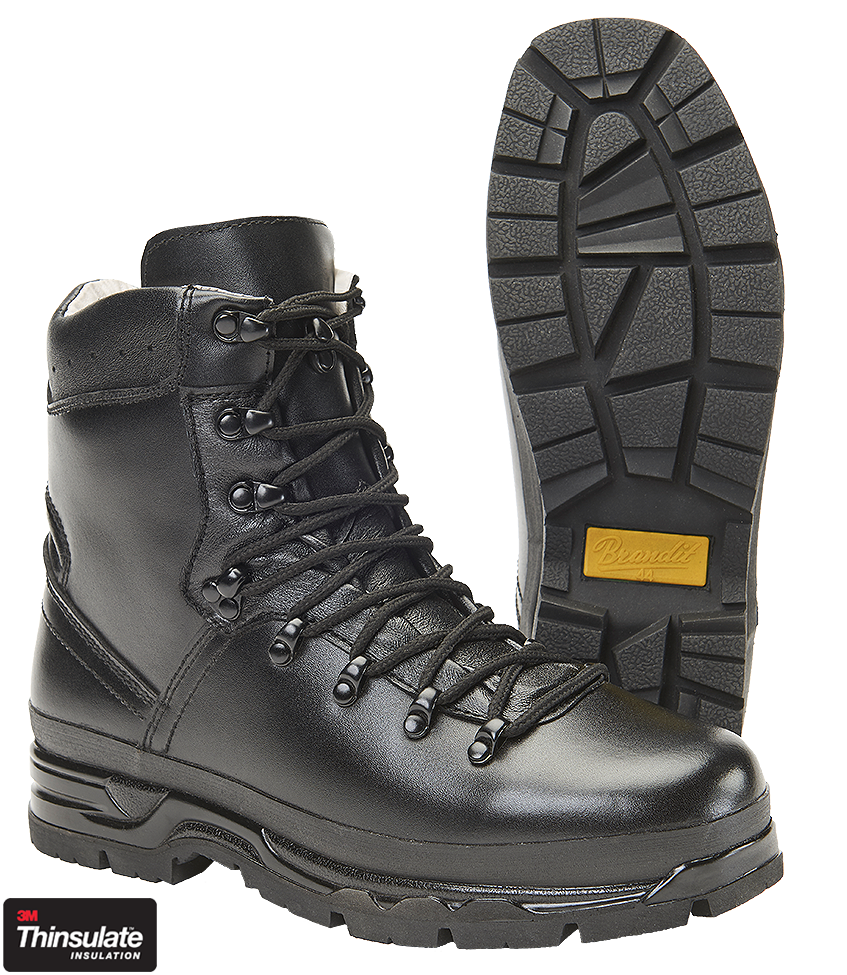 "Brandit® BW German Army Military Mens Mountain Boots ""BW Bergschuh"""