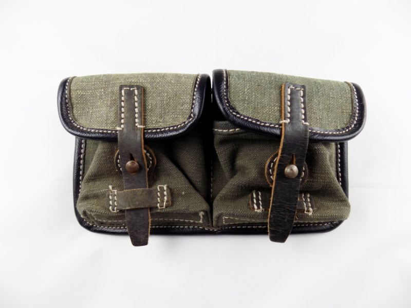 WW2 German Army High Quality 100% Handmade G43/K43 Gewehr Rifle Ammo Pouch