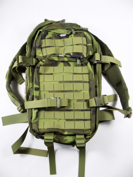 Czech Army Camo Pattern M95 Professional 30L Daily Assault Backpack w/ Molle