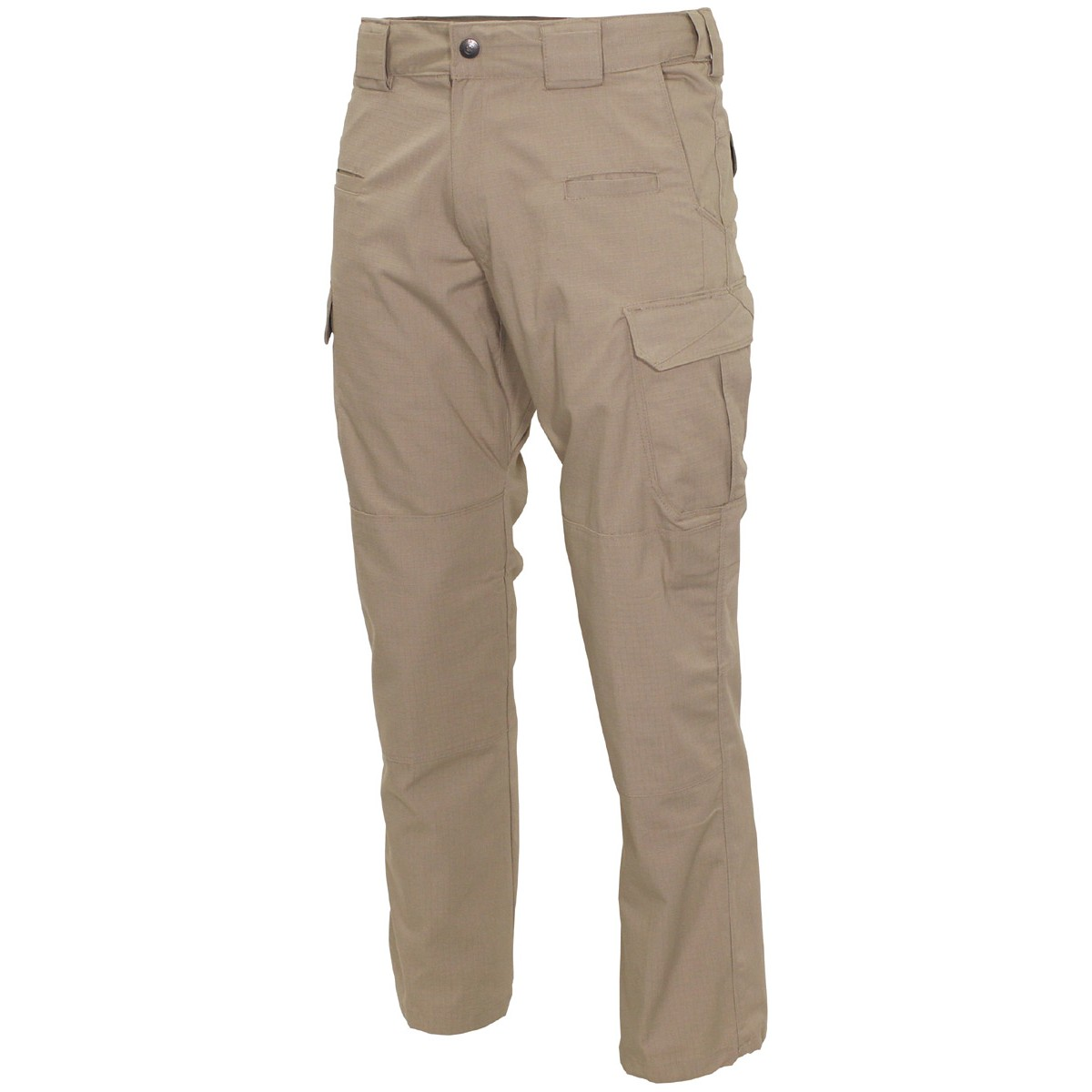 MFH® Defense High Quality Mens Tactical Teflon Coated Rip Stop Pants - Khaki