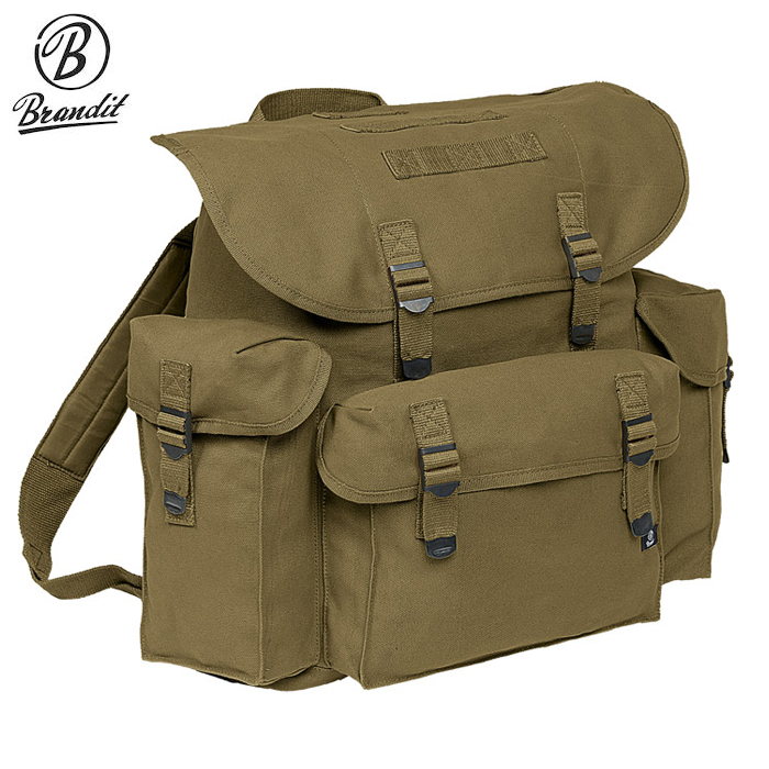 Brandit® BW German Army Stylish Rucksack Backpack - Olive 40L