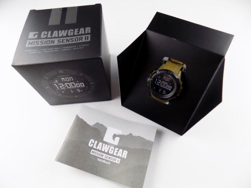 CLAWGEAR® Mission Sensor II Professional Military Outdoor Watch - Coyote Tan