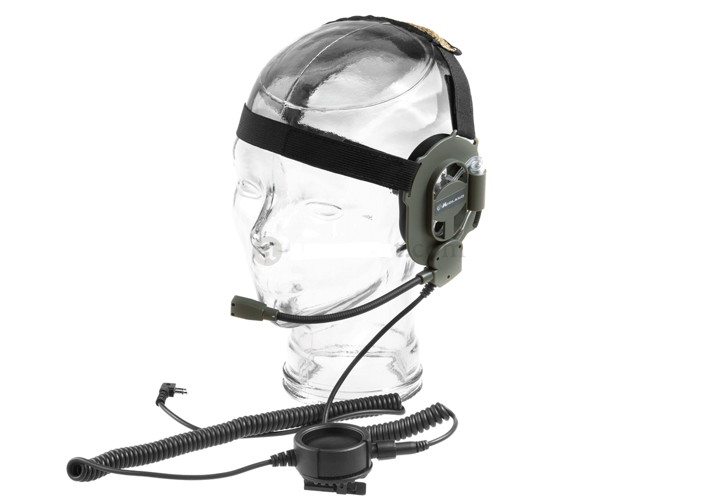 MIDLAND® Military BOW-M EVO Headset Double Audio System - Midland 2 PIN