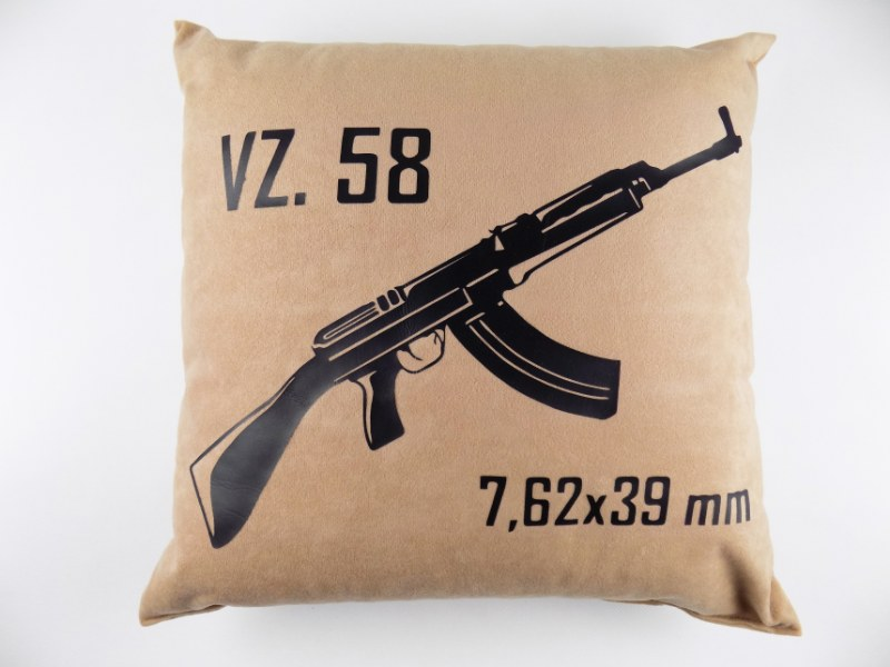 VZ58 SA58 High Quality Stylish Pillow - Desert - VZ58 7.62x39mm