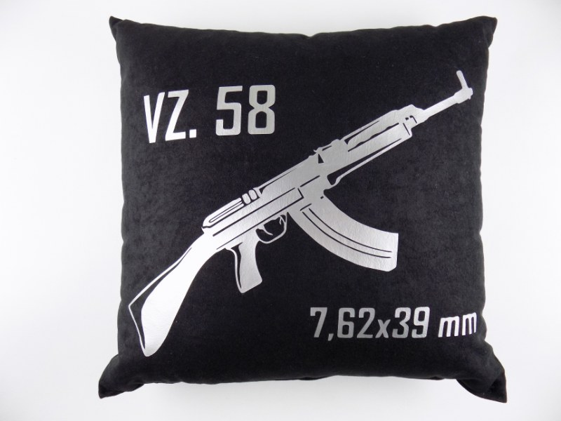 VZ58 SA58 High Quality Stylish Pillow M95 - Black - VZ58 7.62x39mm