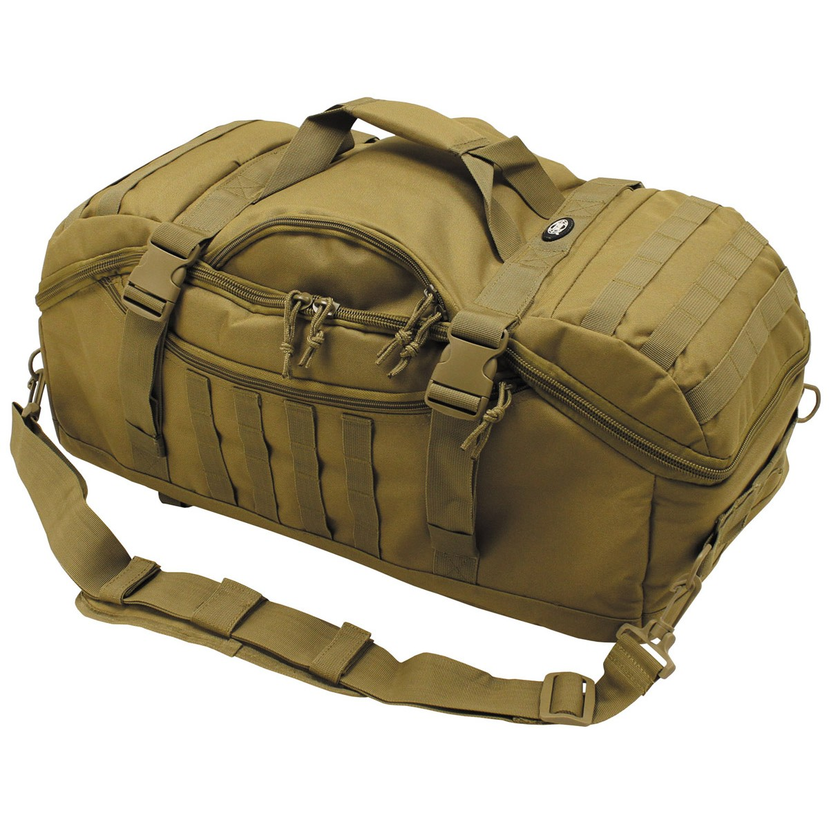 Military Tactical Shooters Multiwear Transport Travel Bag 48L Coyote