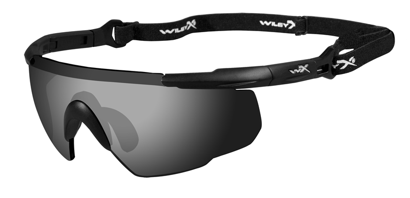 WILEY X ® Saber Advance - Shooting Ballistic Safety Glasses - Smoke Grey