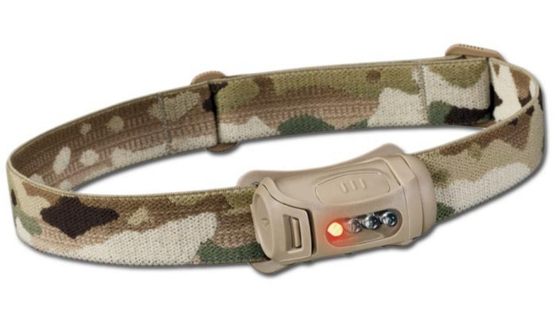 PRINCETON TEC® FRED Professional Military Tactical Headlight Tan / Multicam