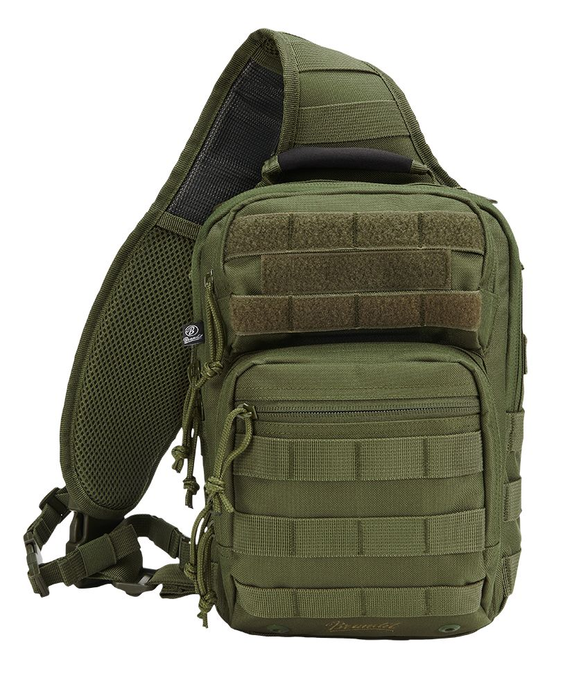 Brandit® US Cooper Every Day Carry Sling Molle Military Style Bag - Olive