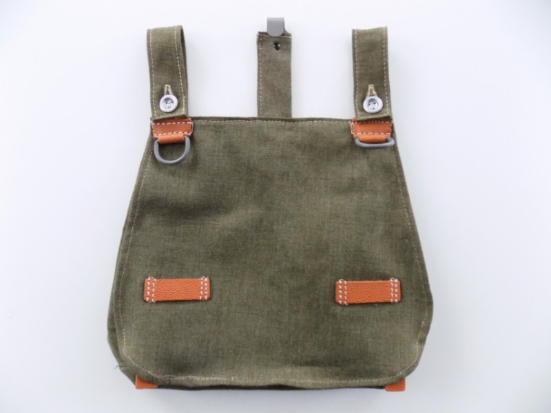 WW2 German Army Bread Bag Brotbeutel High Quality Handmade Repro - TOP