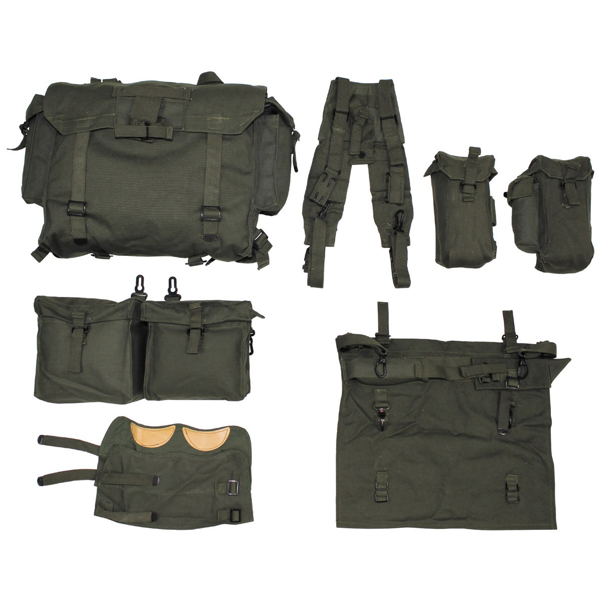 Original Czech Army OSN Tactical Backpack Fully 8 Parts Set - Never Used