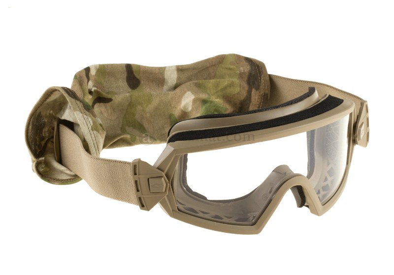 SMITH OPTICS® ELITE OTW Ballistic Military Glasses Googles 2LS Kit - Tan - USA