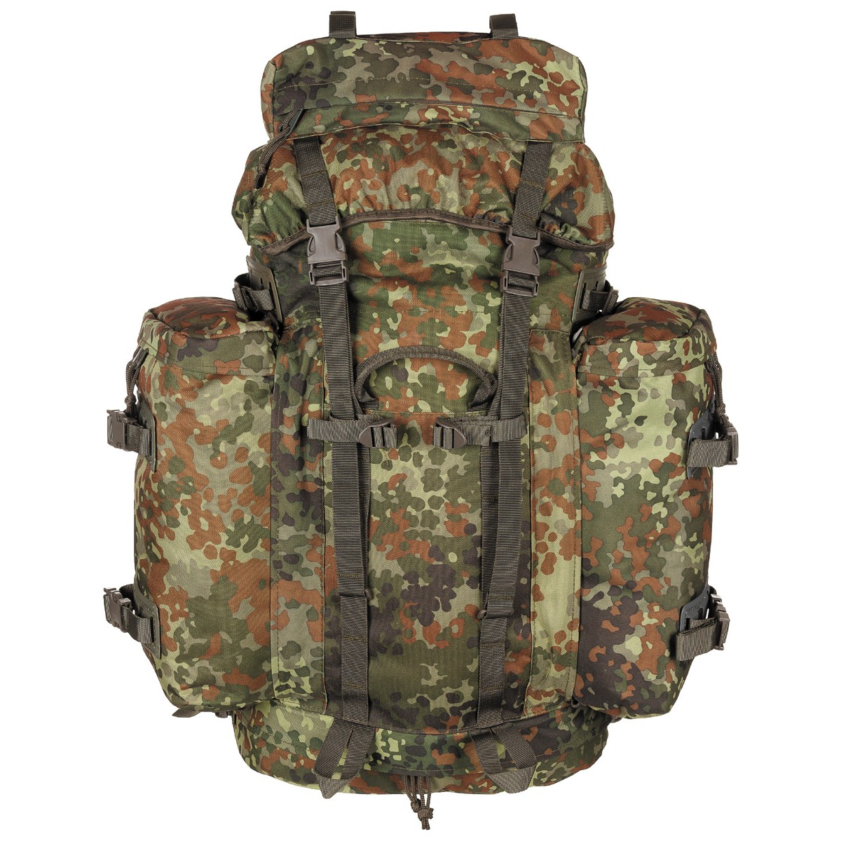 BW German Army Bundeswehr Camo FLECTARN Mountain Field Backpack 100L