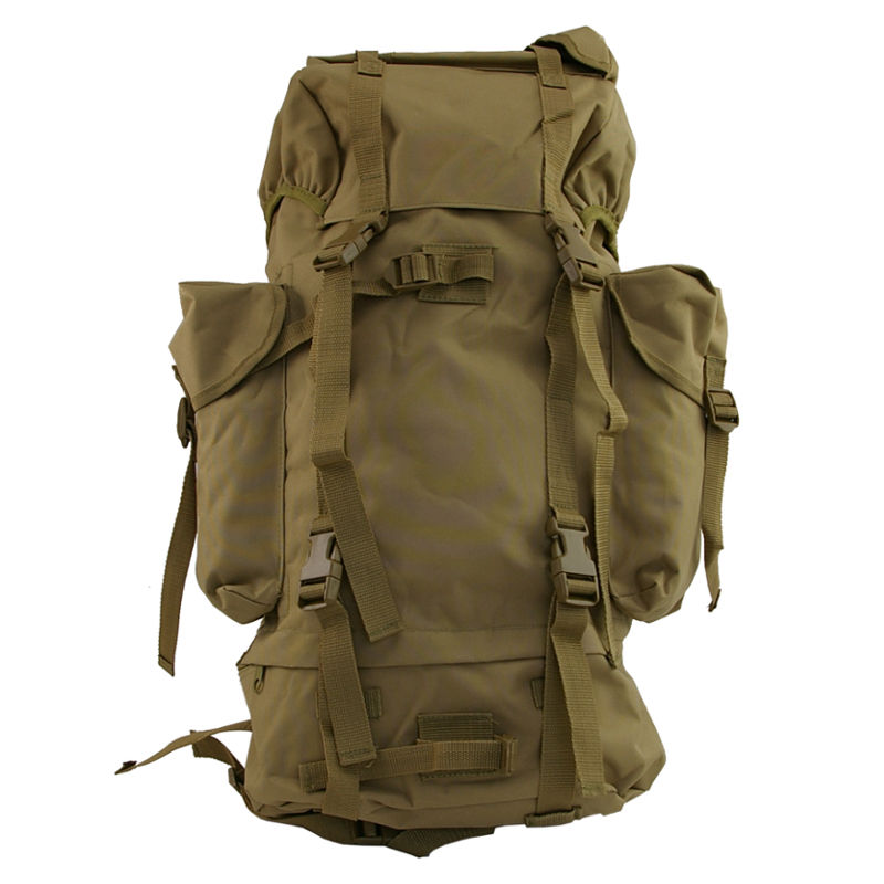 Military Expedition Backpack- 65L - Coyote