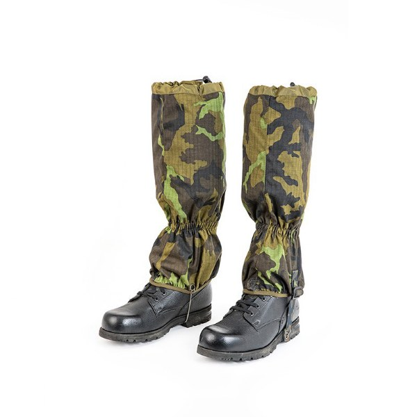 Czech Army Professional Waterproof Gaiters M95 CZ Camo Pattern