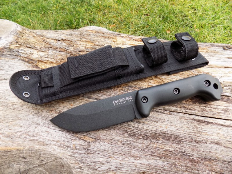 KA-BAR® BK22 Becker Campanion Outdoor Bushcraft Military Camping Knife w/ Sheath