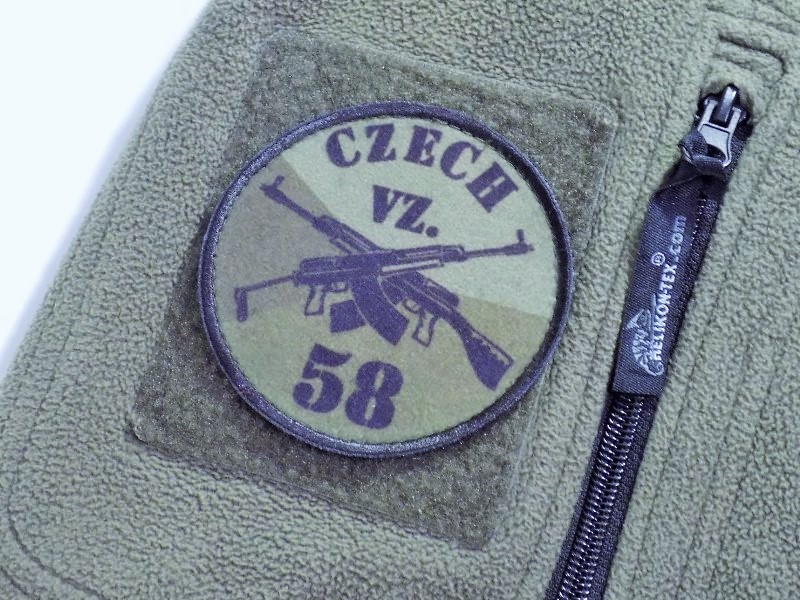 SA,VZ-58 Velcro Patch Military Green