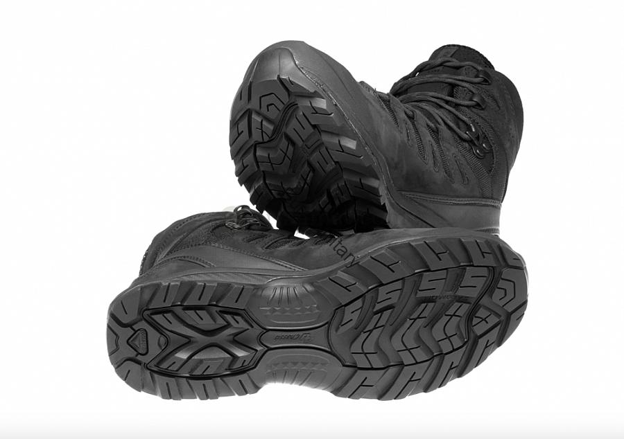 5278761d7f4 SALOMON® Quest 4D GTX Forces - Professional Military Goretex Boots - Black